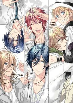 UtaPri ~~ I love how the creators conveniently paired them into couples. Gave them elegant dorm rooms to live together in and thereby inspired 1000% fan madness! :: STARISH from Uta no Prince-sama