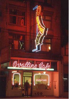Ovaltine Cafe, Hastings Street Vancouver Operating Continuously Since 1942 Named Among The Top 50 Cafes in The World Granville Street, Ovaltine, Vancouver City, Winter Games, Most Beautiful Cities, Historical Pictures, Bridges, My Images, Canada