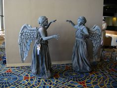 another Doctor Who Weeping Angel costume DIY