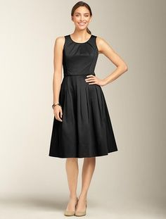 talbots fit and flare dress 2013   Fit & Flare Dress (4)