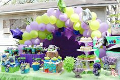 Buzz and Aliens from Toy Story Birthday Party Ideas | Photo 1 of 26 | Catch My Party