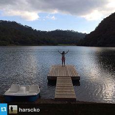 Foto de @harsckoLaguna Juanacatlán #Jalisco #SierraLago