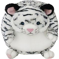 The Squishable White Tiger is now ready for your hugs! #squishable #plush #tiger
