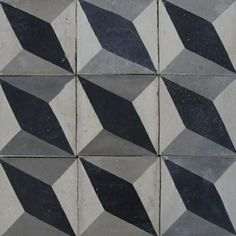 Exquisite Surfaces offers an extensive line of new cement tiles and French and Belgian antique cement tiles