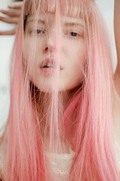 If the look I am going for now, doesn't work. This will be my next experiment. pink