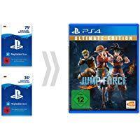 PSN Guthaben-Aufladung für Jump Force - Ultimate Edition [PS4 Download Code - deutsches Konto] Ranger, Ps4, Videogames, Coding, Baseball Cards, Video Games, Gaming, Programming, Video Game