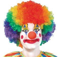 Jumbo Clown Wig - Party City