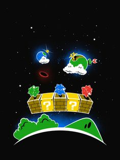 Mario Galaxy 1-1 by Ian Wilding
