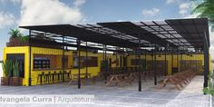 Projeto Ivangela Curra ARQUITETURA Arquitetura Sustentável  Shipping CONTAINERS architecture