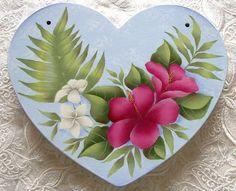 トールペイント ハワイアン decorative painting pintura decorativa Roses