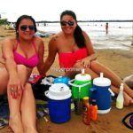 FOTOGALERIA: Playa Molina Punta en Ciudad de Corrientes (06/01/2017)