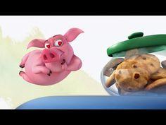 Хрюшка и печеньки | Прикольный мультик | Pig and cookies | cool cartoon