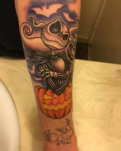 Nightmare Before Christmas Jack Tattoo - Jo Ann @ Avalon II San Diego