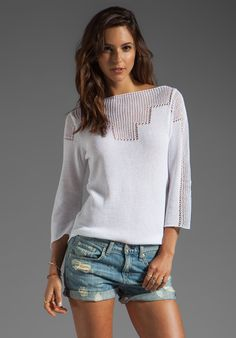 GODDIS Freedom Pullover in Lace at Revolve Clothing - Free Shipping!