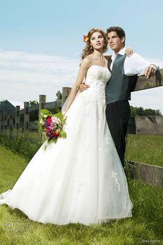 Sincerity Bridal Wedding Dresses 2012 | Wedding Inspirasi