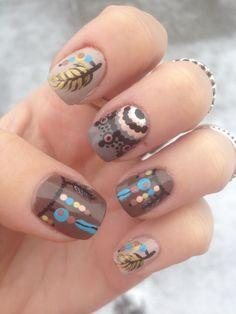 Indian Inspired Nail Art!