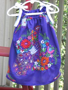 Mexican style baby dresses