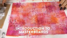 From Nov 22 to Dec 6th, 2015 we are exploring masterboards and how they can be incorporated into what you create. The PaperArtsy Blog Challenge for this topi...