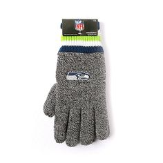 NFL Seattle Seahawks Thermal Gloves [Men's - One Size]
