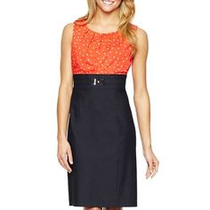 Alyx Dot Bodice Dress - jcpenney Oh my! Wouldn't Maggie like this!