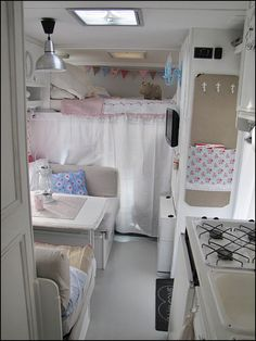 This is like, what my mom's house would look like if we had traveled in a camper during deputation :-P