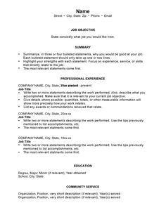 Dental Letter Generic Heading  Pilot Sample Resume  An Example