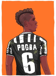 Paul Pogba *** Now available as a print *** Click the image to go to my print shop :) Print Shop / Twitter