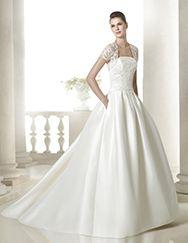 Vestido de novia siamara de la colección Costura 2015 - St Patrick | St. Patrick