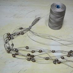 Tutorial by Treasure Rocks Jewelry: Multistring knotted pearl necklace Tutorial by Treasure Rocks Jewelry: Multistring knotted pearl necklace Jewelry Knots, Rock Jewelry, Amber Jewelry, Dainty Jewelry, Pearl Jewelry, Wire Jewelry, Jewelry Crafts, Beaded Jewelry, Jewelery