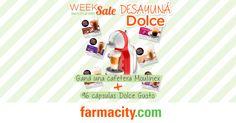 Farmacity - Sorteo Week SALE - Participá por el sorteo de una Cafetera Moulinex   96 cápsulas Dolce Gusto.