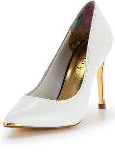 Shop Women's Ted Baker Pumps on Lyst. Track over 1195 Ted Baker Pumps for stock and sale updates. Fashion News, Kids Fashion, Very High Heels, Shoe Closet, Court Shoes, Summer Wardrobe, Ted Baker, Christian Louboutin, Kitten Heels