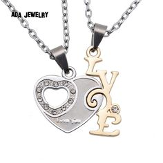 NEW ARRIVAL! #valentine's gift Valentines day Gi...  order here:http://familyloves.com/products/valentines-day-gift-crystal-heart-i-love-you-letters-pendant-chain-couple-necklaces?utm_campaign=social_autopilot&utm_source=pin&utm_medium=pin