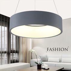 Hot moderne minimalismus led pendelleuchten lampe esszimmer bar restaurant hängen leuchte suspendu lampadario moderno leuchten