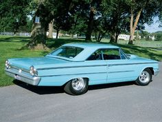 1963 ford galaxie | 1963 Ford Galaxie Fastback Side View Photo 3