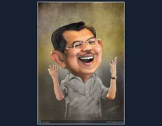 JUSUF KALLA - Indonesia vice president #Creative #Art #DigitalArt @Touchtalent.com