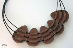 pic only: back of multi string necklace