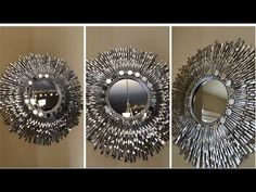 "Dollar Tree DIY - 24"" Decorative Wall Mirror - YouTube"