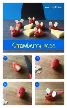 Yummy strawberry mice recipe!