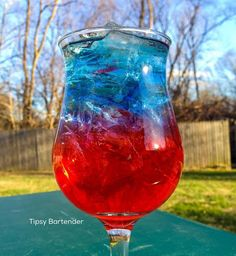 Red Voltage Cocktail - For more delicious recipes and drinks, visit us here: www.tipsybartender.com