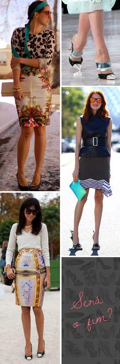 Blogs de street style e estilistas como Marc Jacobs (para Louis Vuitton) e Miuccia Prada decretam o fim das amadas meias patas!
