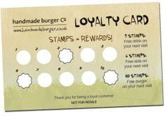 Stamp Loyalty Cards Card Design Coupons Salon