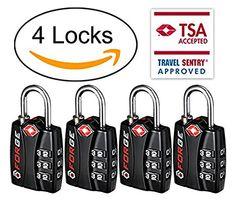 Forge TSA Luggage Locks-Luggage Locks