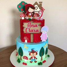 Bolo Fake, Drip Cakes, Minions, Minnie Mouse, Birthday Cake, Desserts, Ely, Cake Baby, Red Riding Hood