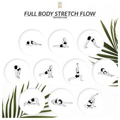 Get your yoga on, girl! Target your tightest muscles & ensure a total body stretch with this 10 min yoga flow