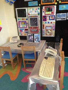 Mission Control to Space Role-Play classroom display photo - Photo gallery - SparkleBox