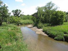 Plum Creek near Walnut Grove, Minnesota.