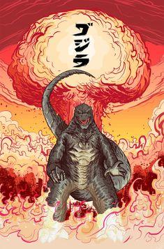 Legendary Godzilla! by MatthewPetz.deviantart.com on @DeviantArt