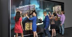 Interactive wall takes research to new scale
