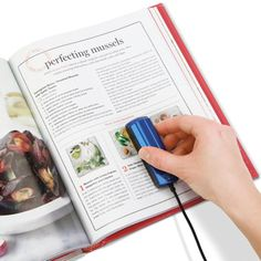 The Pocket Sized Scanner - Hammacher Schlemmer -I NEED THIS! I AM ALWAYS TAKING PHOTOS OF RECIPES AND SAVING TO MY PHONE!! SELINA