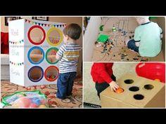 100 fáciles juegos que mantendrán entretenido a tu hijo un buen rato - YouTube